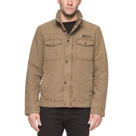 Levi's Mens Full Zip Jacket – Khaki