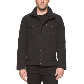 Levi's Mens Full Zip Jacket - Black