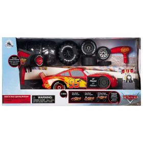 Disney Cars 3 Lightning McQueen Build to Race Remote Control Vehicle