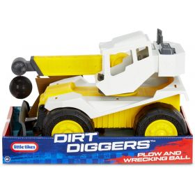Little Tikes Dirt Digger Plow & Wrecking Ball