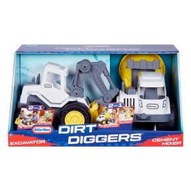 Little Tikes Dirt Diggers 2 in 1 Vehicles 2 Pack