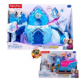 Little People Disney Frozen Elsa's Ice Palace & Kristoff's Sleigh