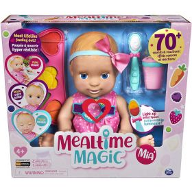 Luvabella Mealtime Magic Mia Interactive Baby Doll