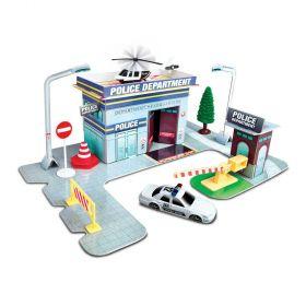 Maisto Fresh Build N Play Police Station