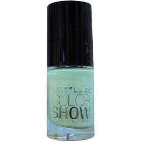 Maybelline 320 New York Color Show Nail Lacquer, Green with Envy