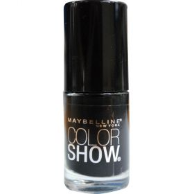 Maybelline 7mL Color Show Nail Polish 430 Onyx Rush