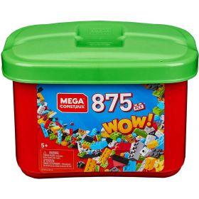 Mega Construx 875 Piece Tub