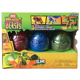 Mega Construx Breakout Beasts 3 pack (Exclusive)