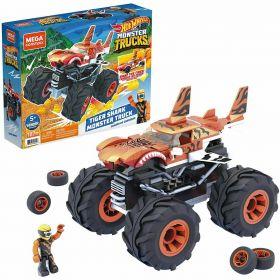 Mega Construx Hot Wheels Tiger Shark Monster Truck
