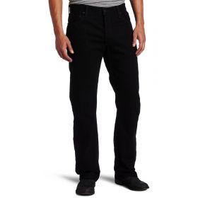 Mens Levis 505 Regular Jeans Black