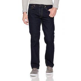 Mens Levis 505 Regular Fit Jeans Blue