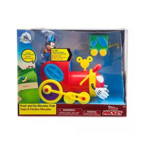 Mickey Mouse Push and Go Mouska Train Exclusive
