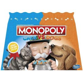MONOPOLY Cats Vs Dogs Board Games
