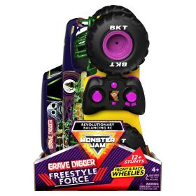 Monster Jam Freestyle Force Grave Digger RC