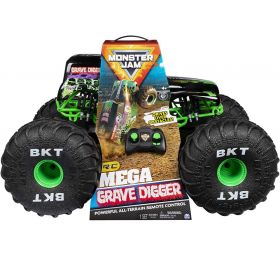 Monster Jam Official Mega Grave Digger RC 1:6 Scale