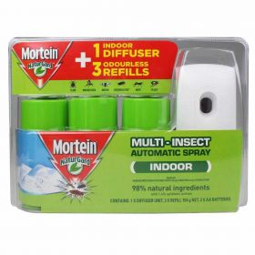 Mortein 3 pack  Indoor Multi Insect Automatic Spray System