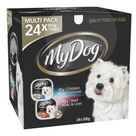 12 x My Dog Chicken Supreme Trays 100g