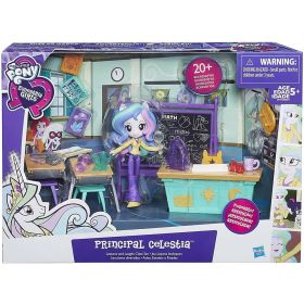 My Little Pony Equestria Girls Principal Celestia Lessons & Laughs Class Set