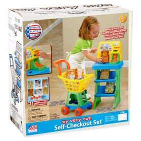 American Plastic Toys My Very Own Self-Checkout Play Set
