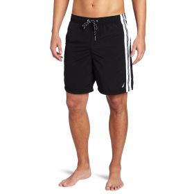 Nautica Mens Swim Trunk Black