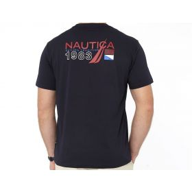 Nautica Sailing Tradition Racing Graphic Tee