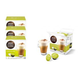 Nescafe Dolce Gusto Cappuccino Coffee Capsules 48 Pack (24 Servings)