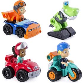 Nickelodeon Rusty Rivets Racer 4 pack Assorted