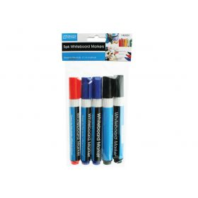 Office Central 5pack Whiteboard Markers