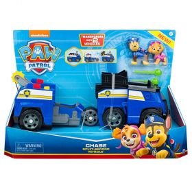 Paw Patrol Chase Split-Second 2-in-1 Transforming Police Cruiser Vehicle