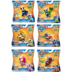 Paw Patrol Mighty Pups Super Paws Full Set of 6 Action Figures