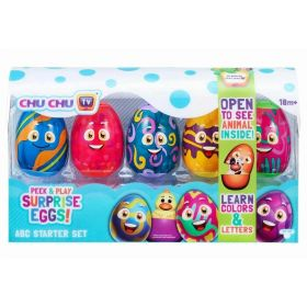 Peek and Play Surprise Eggs ABC Starter Set
