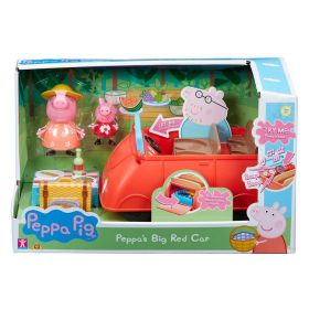Peppa Pig Deluxe Family Car