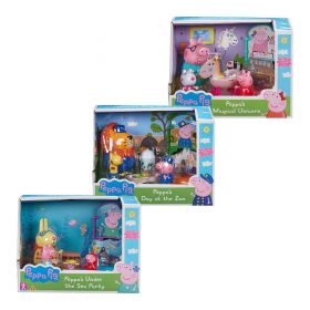 Peppa Pig Theme Playsets Assorted