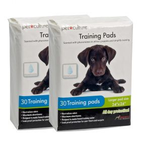 Pet Culture Puppy Training Pads 60-Pack  Large Size