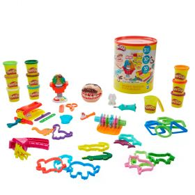 Play Doh Big Time Classics Canister Bundle of 3 Playsets