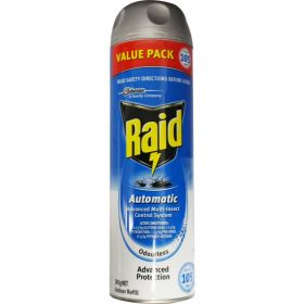 Raid Automatic Multi-Insect Indoor Insect Control Refill 305g