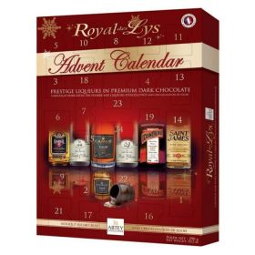 Royal Des Lys Liquor Chocolate Advent Calendar