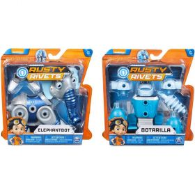 Rusty Rivets Creature Build Pack Assorted