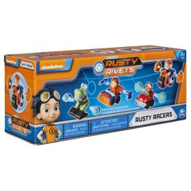 Rusty Rivets Rusty Racer 4 Pack Bundle