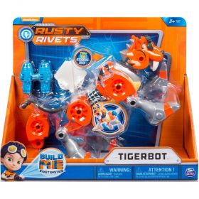 Rusty Rivets Tigerbot Building Set with Lights and Sounds