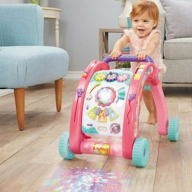 Little Tike 3 in 1 Walker and Activity Table Pink