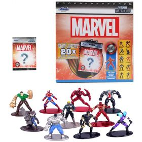 Marvel Licensed Nano Metalfigs Die Cast Figures 20pk or Cake Topper Display