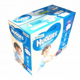 Huggies Ultra Dry 148 Toddler Boy Disposable Nappies 10-15 kg