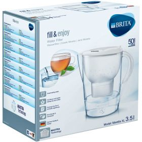 Brita Marella XL 3.5L Water Filter Jug + 2 Brita Maxtra Filter Cartridges