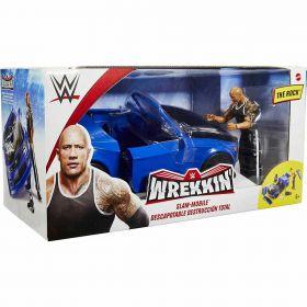 WWE The Rock Wrekkin Slam Mobile Vehicle