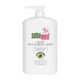 Sebamed Olive Face And Body Wash 1L