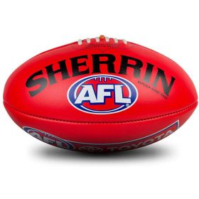 Sherrin Leather Replica AFL Ball Full Size 5