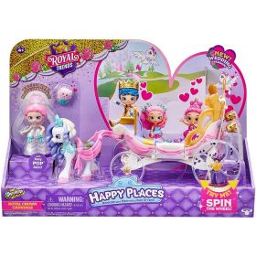 Shopkins Happy Places Royal Wedding Carriage Playset