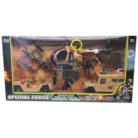 Soldiers Special Forces Rescue Playset