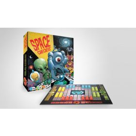 Space Checkers Game By Wiggles 3D